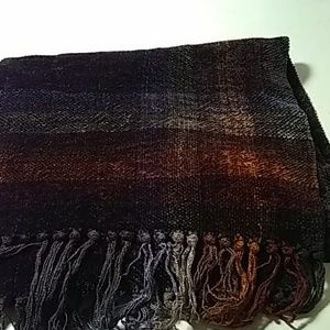 Loominus Handwovens Accessories - Loominus Handwovens Rayon chenille scarf